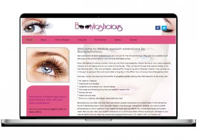 Beauty Website Design