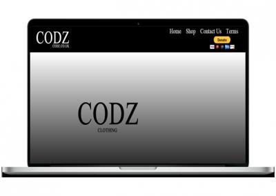 Simple Shop Website Design
