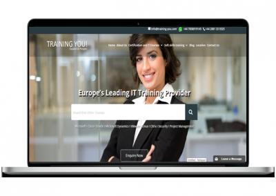 Training Website Design