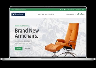 Chairs Website Design