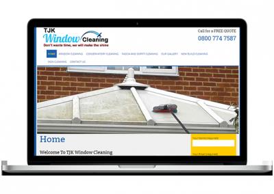 Windows Cleaning Website Design