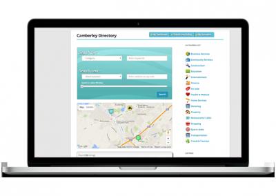 Directory website design