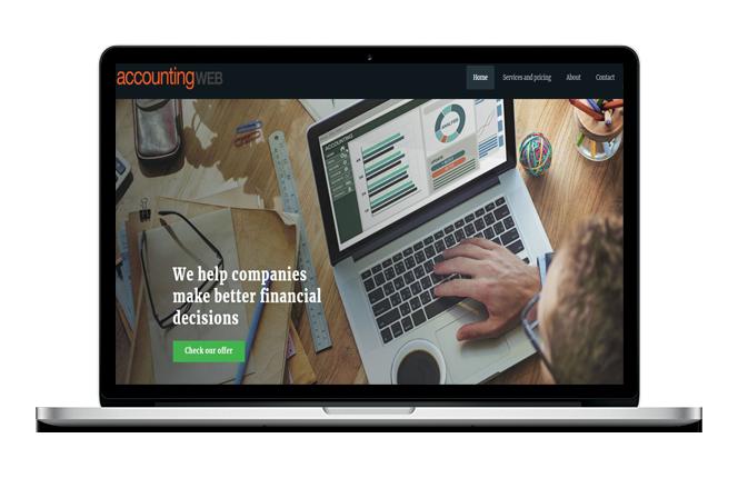 Accountant Website Design