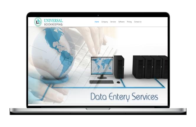 Bookkeeping Website Design