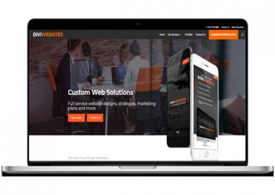 Website Design Company Website