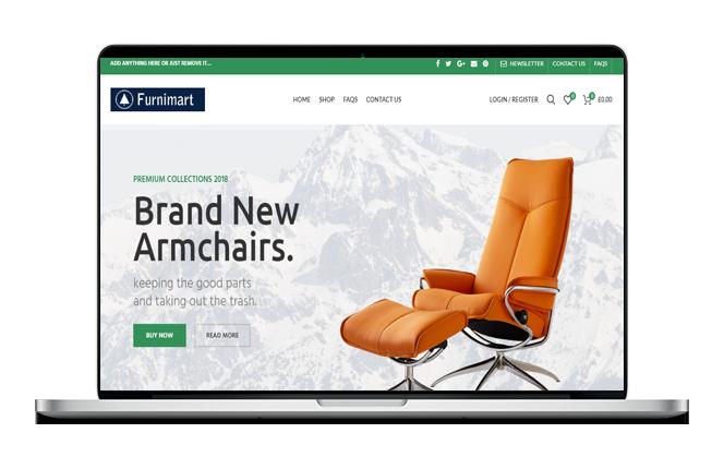 Shop Website Design