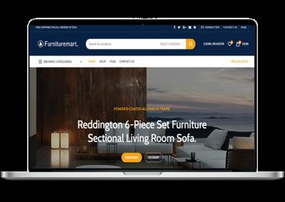 Furniture Market Website Design